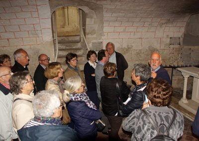 Visite de l'église St Eusice de Selles-sur-Cher - 21 Mai 2017