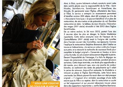 Article Blois Mag